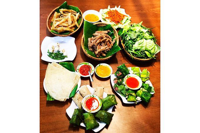 Nem Ninh Hòa hấp dẫn từ hình thức  đến hương vị.